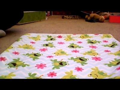 How to make a doll bedding set tutorial part 2