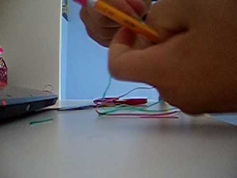 How to make a lanyard pencil grip