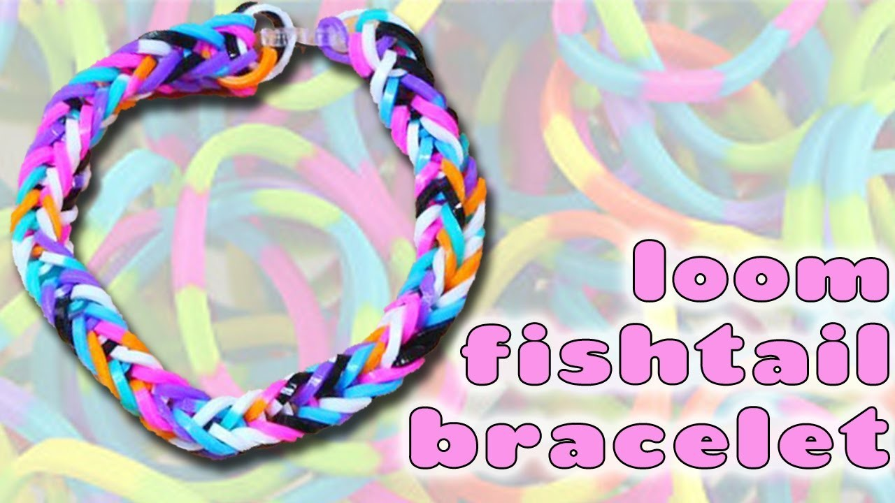 How to Make a Loom Fishtail Bracelet by Hand
