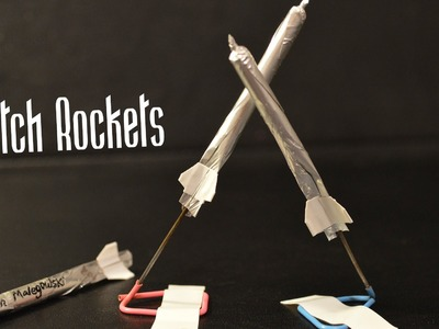 How to Make a Match Rocket