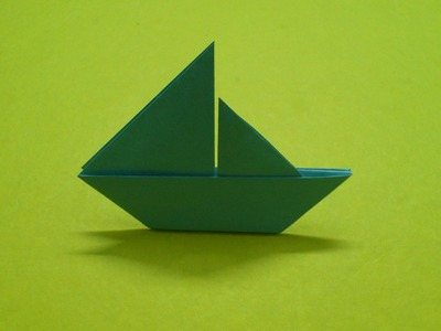 How to Make a Paper Boat   Sail Boat 2D