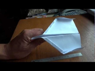 How to Make a Paper Plane - Easy to Follow Instructions - an Awesome Glider