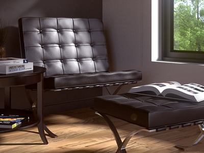 How to Make a Simple Lounge Room in Blender