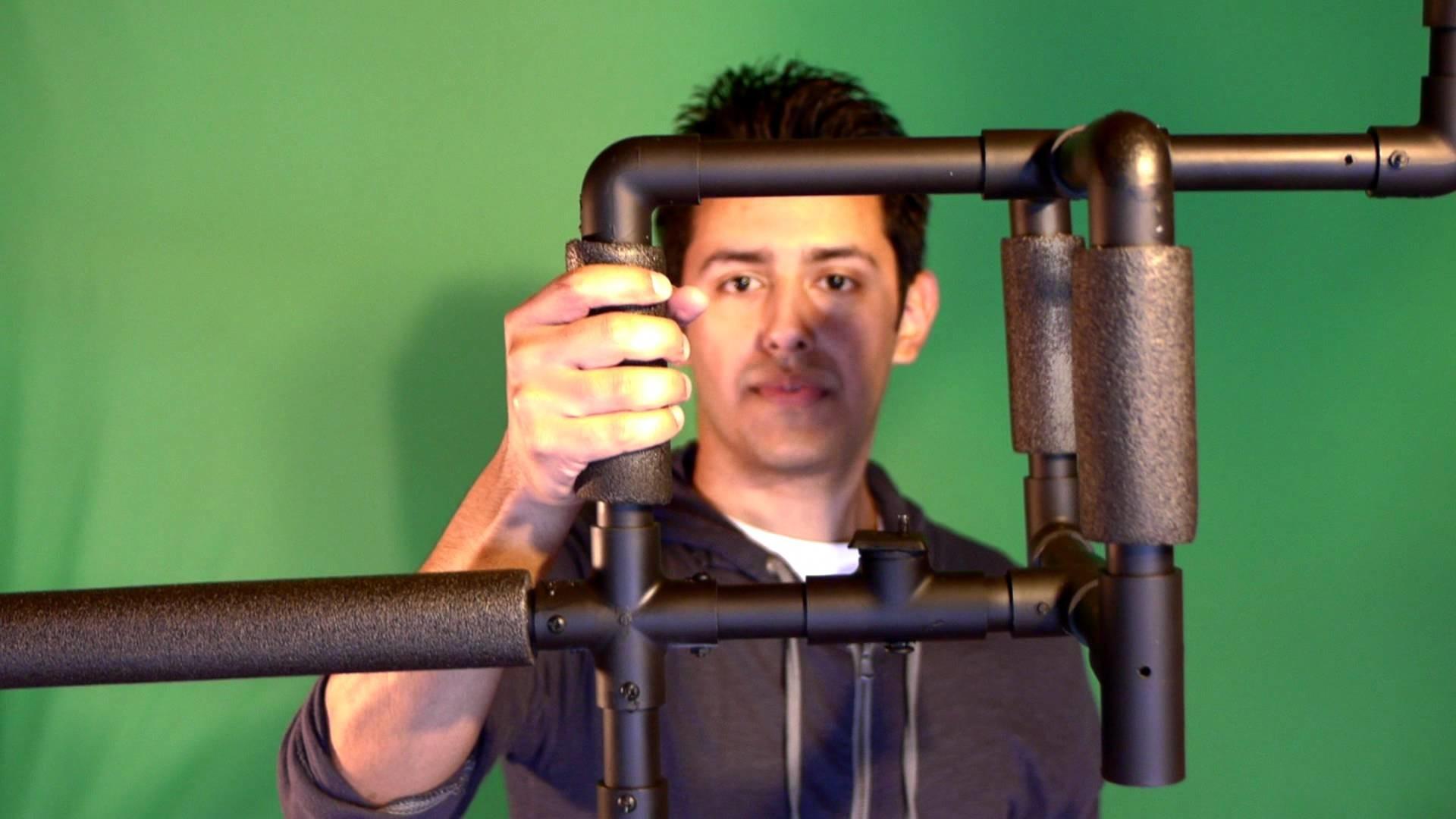 How To Make a Steadicam Stabilizer DIY - Trick Rig