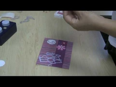 How to make a Sweet 16 Card
