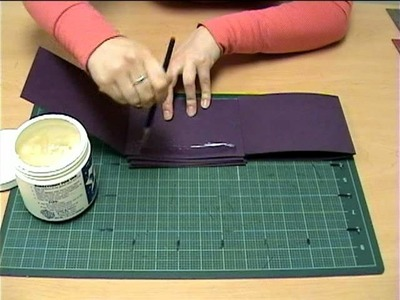 How to Make an Accordion Fold Book by Emily Embrescia Joyce
