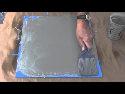 How to make concrete floors look like wood