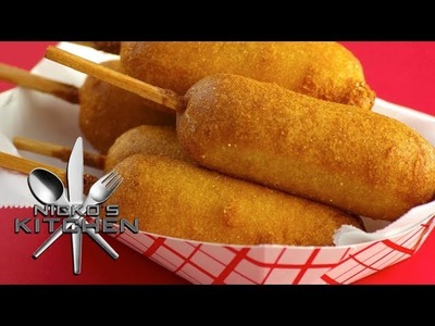 HOW TO MAKE CORN DOGS - VIDEO RECIPE