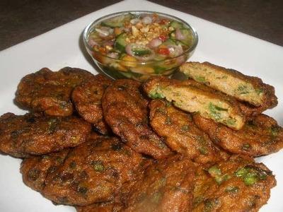 How to make Fish Cakes (Prahet)