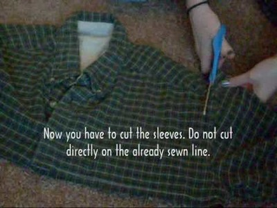 How to make: Flannel Tunic