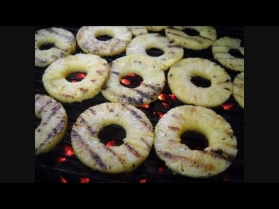 How to Make Grilled Pineapple:  Noreen's Kitchen