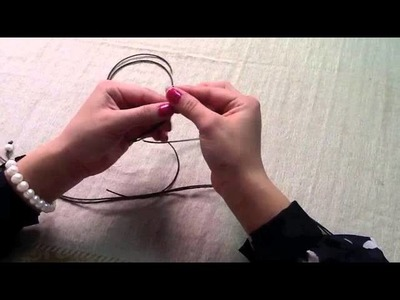 How to make Leather Pearl Necklace with Extensions