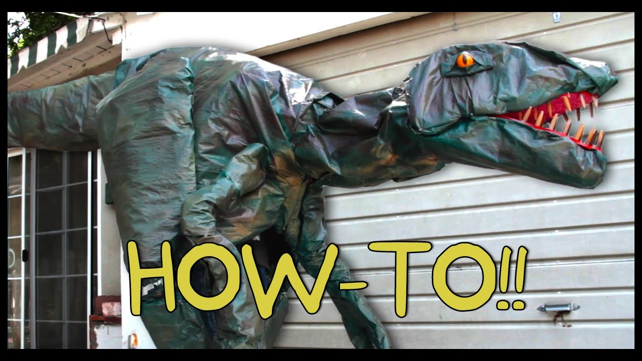 How To Make Your Own Jurassic World Velociraptor! - Homemade How-to!