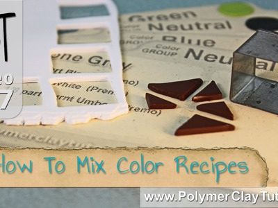 How To Mix Polymer Clay Color Recipes