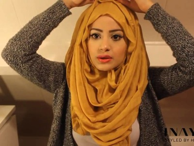 How To Style Your INAYAH Scarf   Hijab Tutorial 4