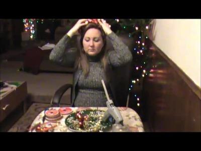 Itry to make Christmas headbands