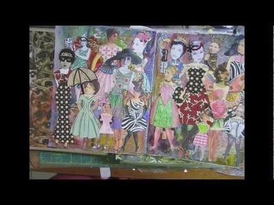 Junk Journal Finale, Paper Dolls, Organizing Ephemera Part 2