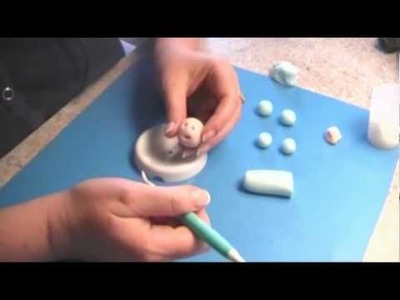 Learn to create a Gumpaste Baby Part One