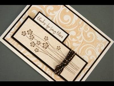 Letterpress with a Cuttlebug Folder