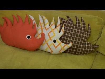 Make a Hedgehog Plushie, Decor it Yourself