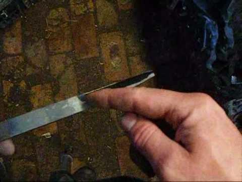Making a Crook Knife part 1.wmv