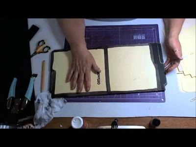 Making a File Folder Book Part 3