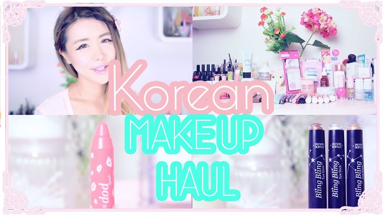 My Korean Makeup Haul - Etude House Eye Makeup, Lip Makeup, Nail Polish and more! Wengie