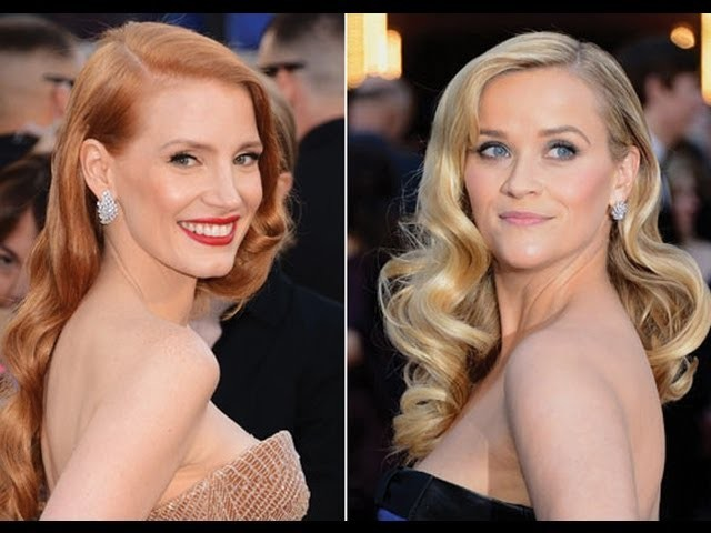 Oscars Hair | Red Carpet Hair & How To Get Vintage Hollywood Glam Waves