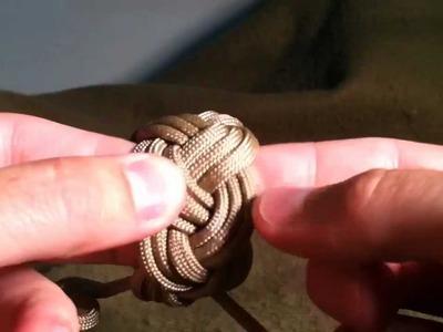 Paracordist How to make a Sailor Knot Bracelet, Turks Head Bracelet, Part II w. paracord