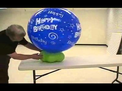 Quick Easy Balloon Centerpieces Tutorial