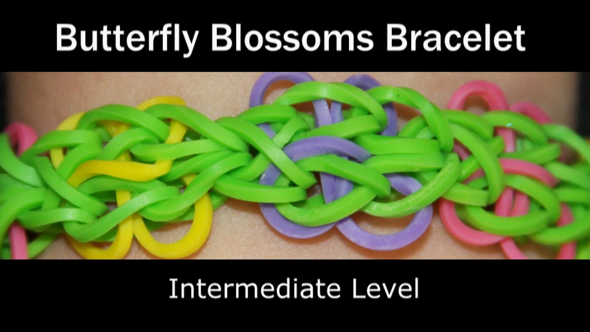 Rainbow Loom® Butterfly Blossoms Bracelet