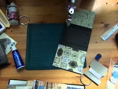 TP mini binding tutorial, shadow box, Money saving tip
