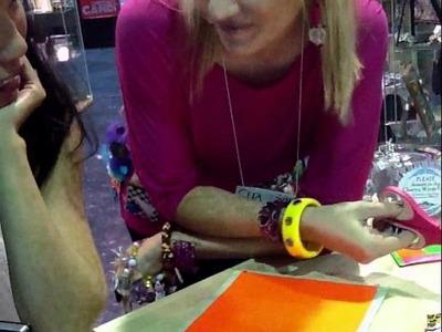 Westcott part 2-Marisa makes duck tape brand pouches!