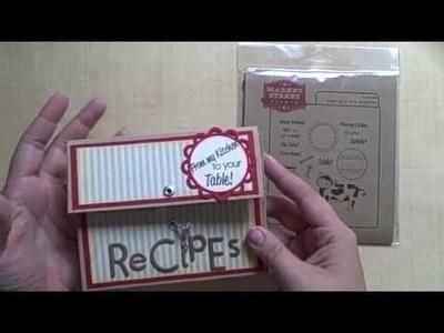 Word on the Street #3 - Recipe Box!