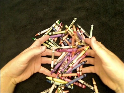 9.5 Relaxation: *FIXED* Crayons, Plastic Box, and a Whispering Voice. Relaxing Sounds, ASMR