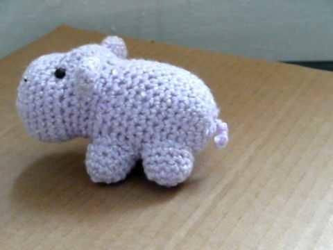 Amigurumi - Hippo (No Audio)
