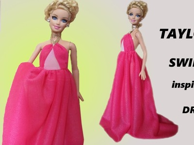 BARBIE DOLL-HOW TO MAKE-TAYLOR SWIFT DRESS