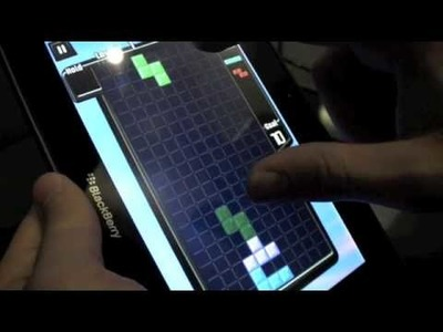 BlackBerry PlayBook Video - Need for Speed, Tetris and More!