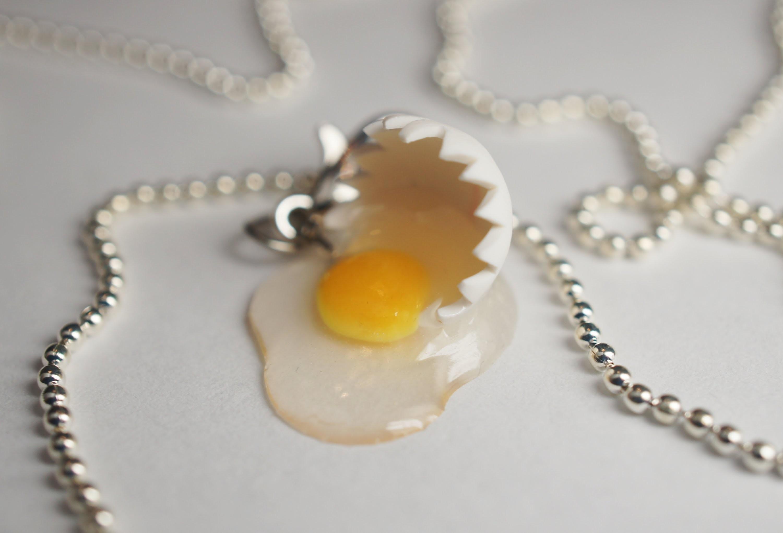 Broken Egg Tutorial, Miniature Food Tutorial, Polymer Clay