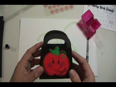 Cricut Project Video #33 Boo to You Treat Bag Part 2