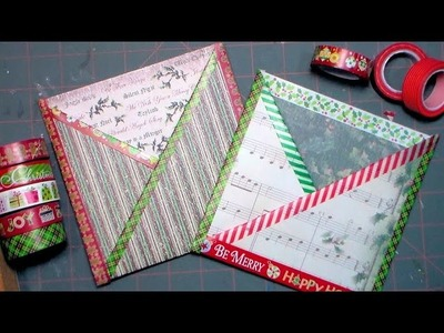 Criss-Cross Pocket Card Tutorial