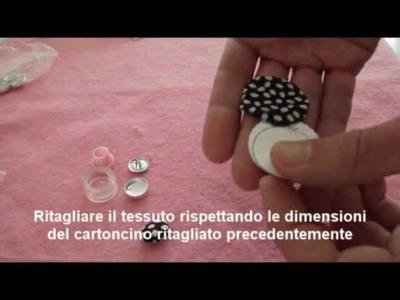 Easy Button Tutorial - Bottone handmade - Arte e Bijoux