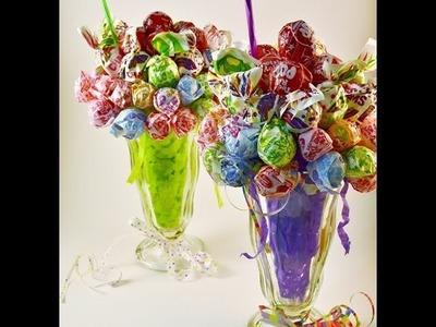 Edible Candy Bouquet Lollipop Malt How-to Video   RadaCutlery.com