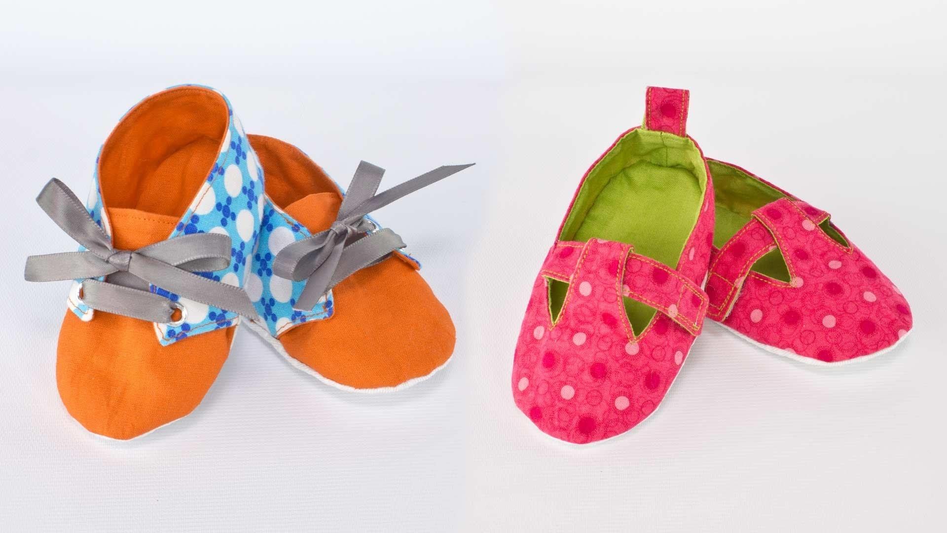 Ellie Mae Baby Booties - Kwik Sew Pattern 0141