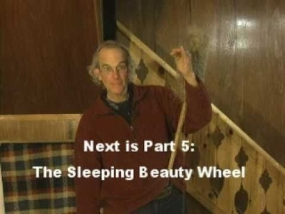 Flax spinning - part 3: the drop spindle
