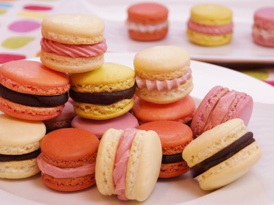 French Macarons Recipe: How To Make French Macarons: Step by Step: Dishin' With Di  # 135