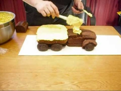 Garrys Truck Cake How To