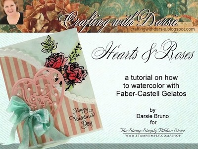 Hearts & Roses: A Watercolor Tutorial with Darsie Bruno