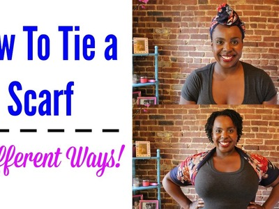 How Tie a Scarf: 8 Different Ways!
