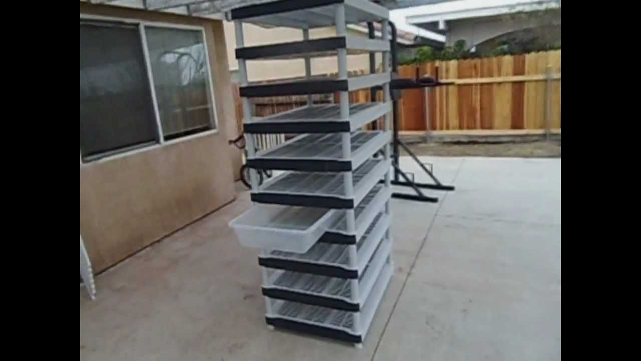 How to build a cheap snake rack